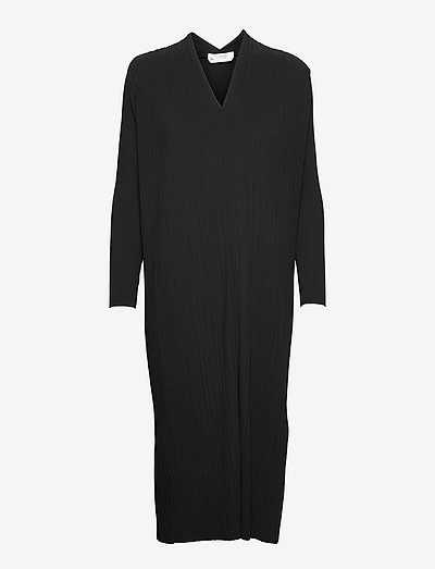 TUBO - midi dresses - black