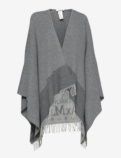 BERMA - ponchos & capes - medium grey