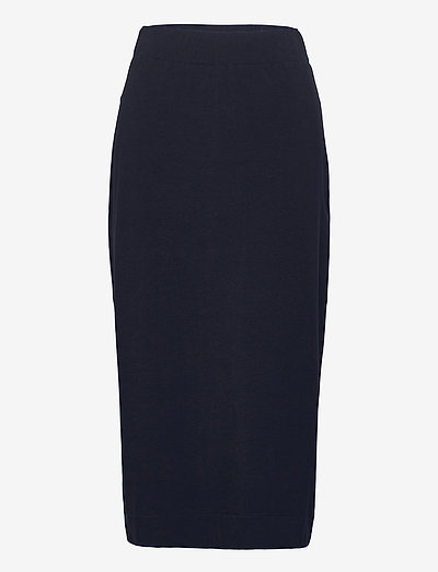 ELVY - midi skirts - midnightblue