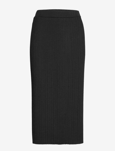 RARO - midi skirts - black