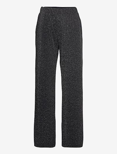 PALMIRA - wide leg trousers - navy