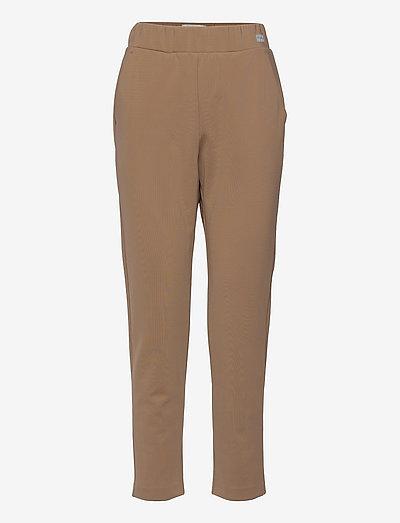 EMPOLI - straight leg trousers - camel