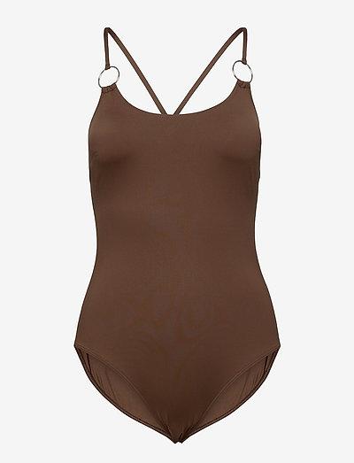 LAMPADA - swimsuits - brown