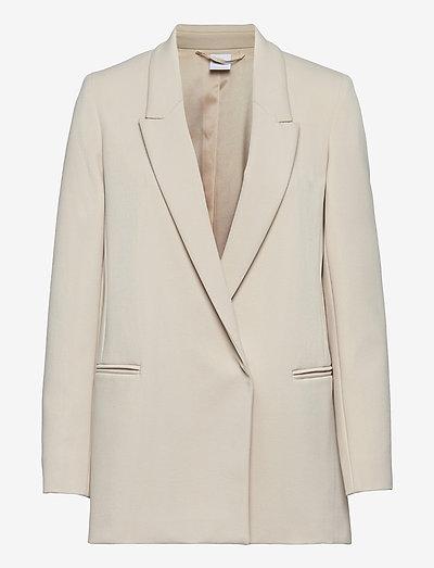 AIA - oversized blazers - pearl grey