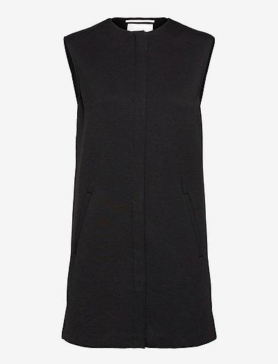 CANASTA - knitted vests - black