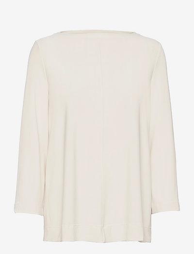 RIVOLO - long sleeved blouses - white