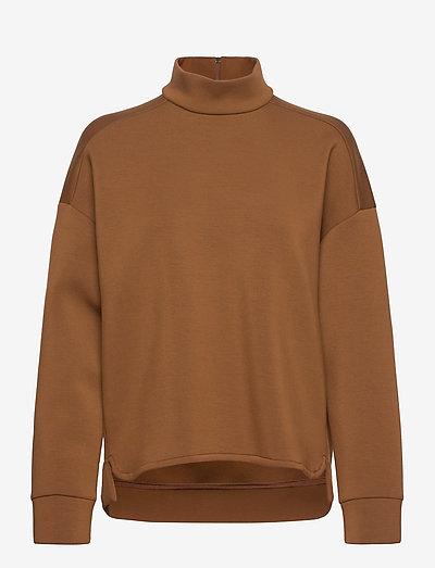 NEBBIE - sweatshirts - hazelnut brown