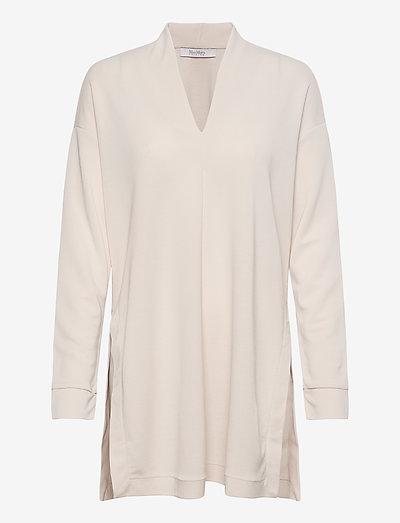 FALLA - long sleeved blouses - beige