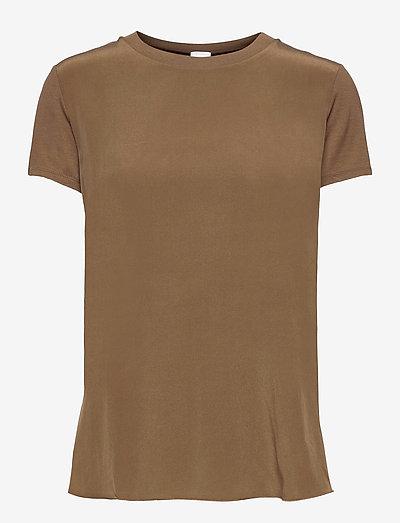 POSATO - t-shirts - golden green brown