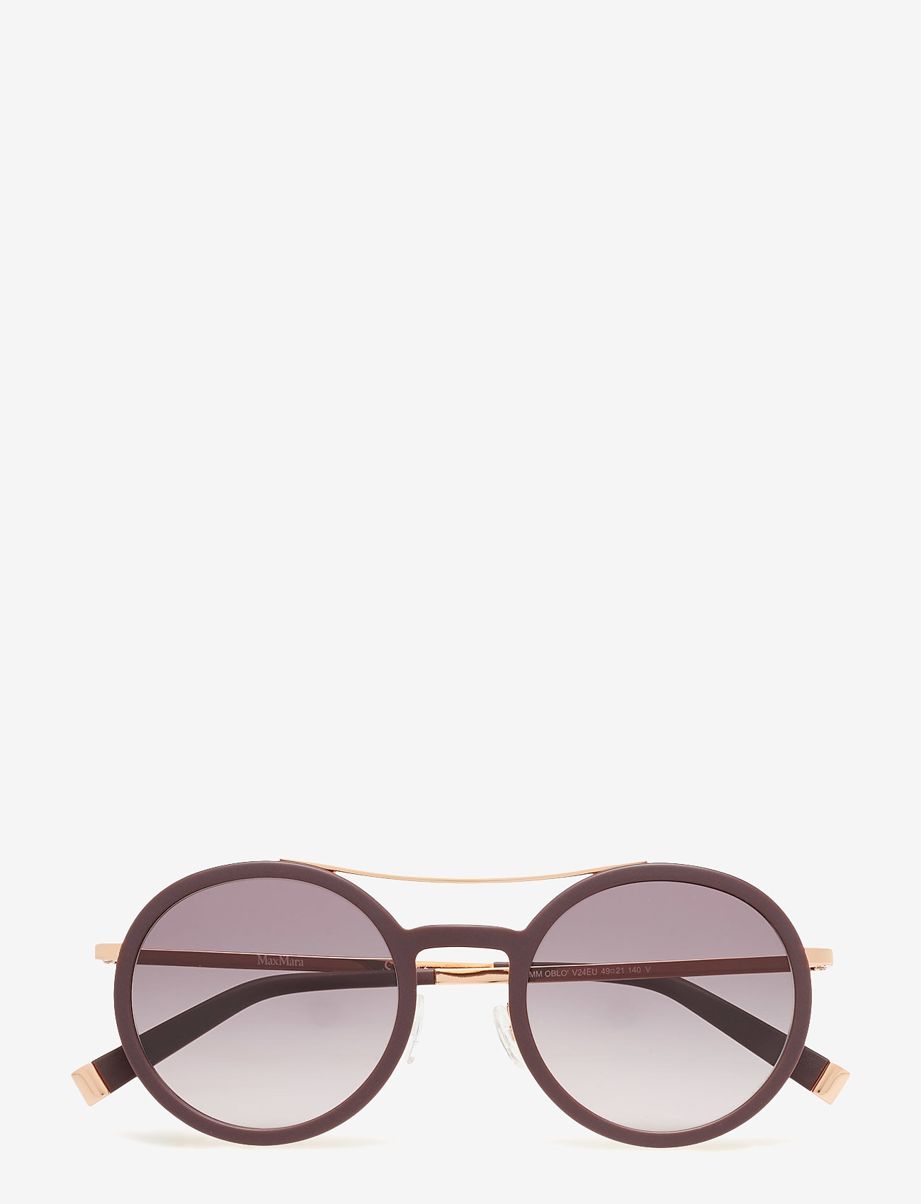 MAXMARA Sunglasses - MM OBLO - round frame - black - 0