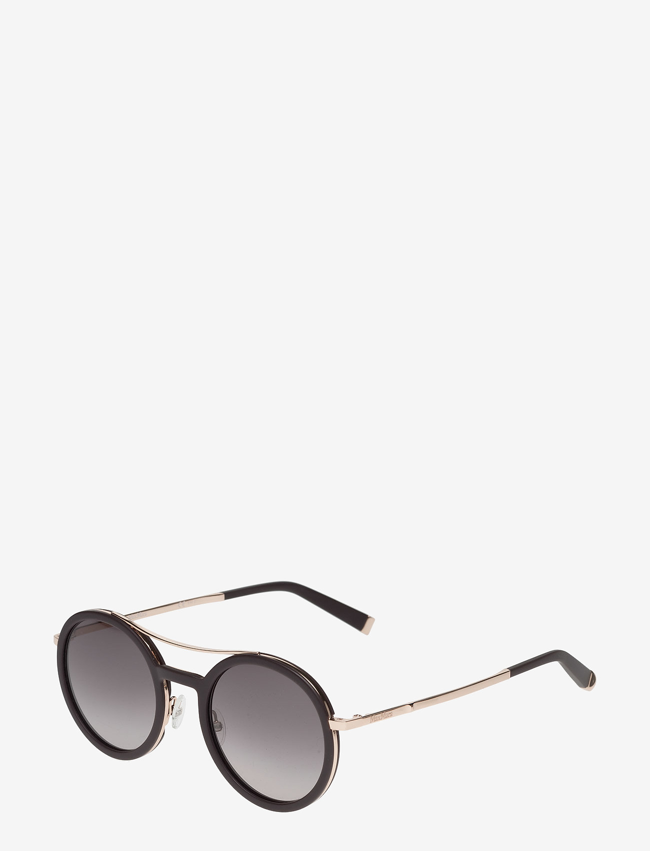 MAXMARA Sunglasses - MM OBLO - round frame - black - 1