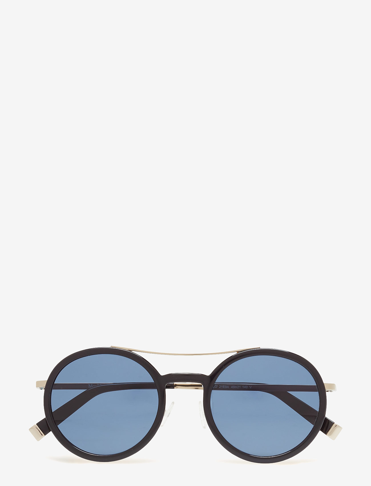 MAXMARA Sunglasses - MM OBLO - round frame - black - 0