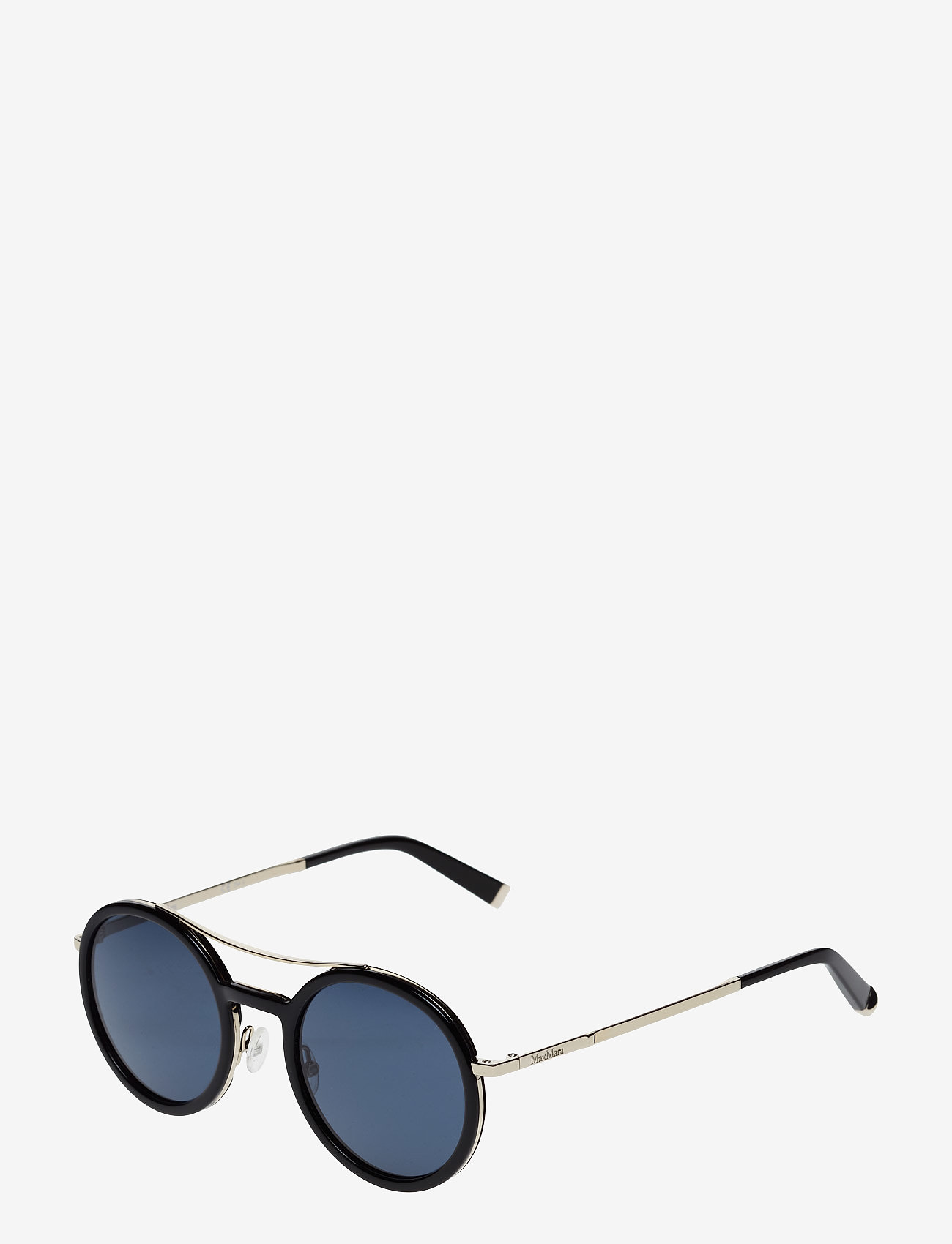 MAXMARA Sunglasses - MM OBLO - round frame - black - 1