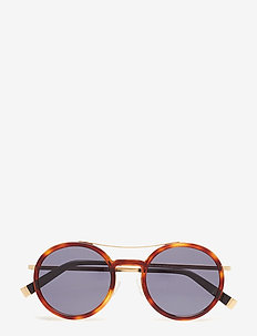MM OBLO - round frame - brown