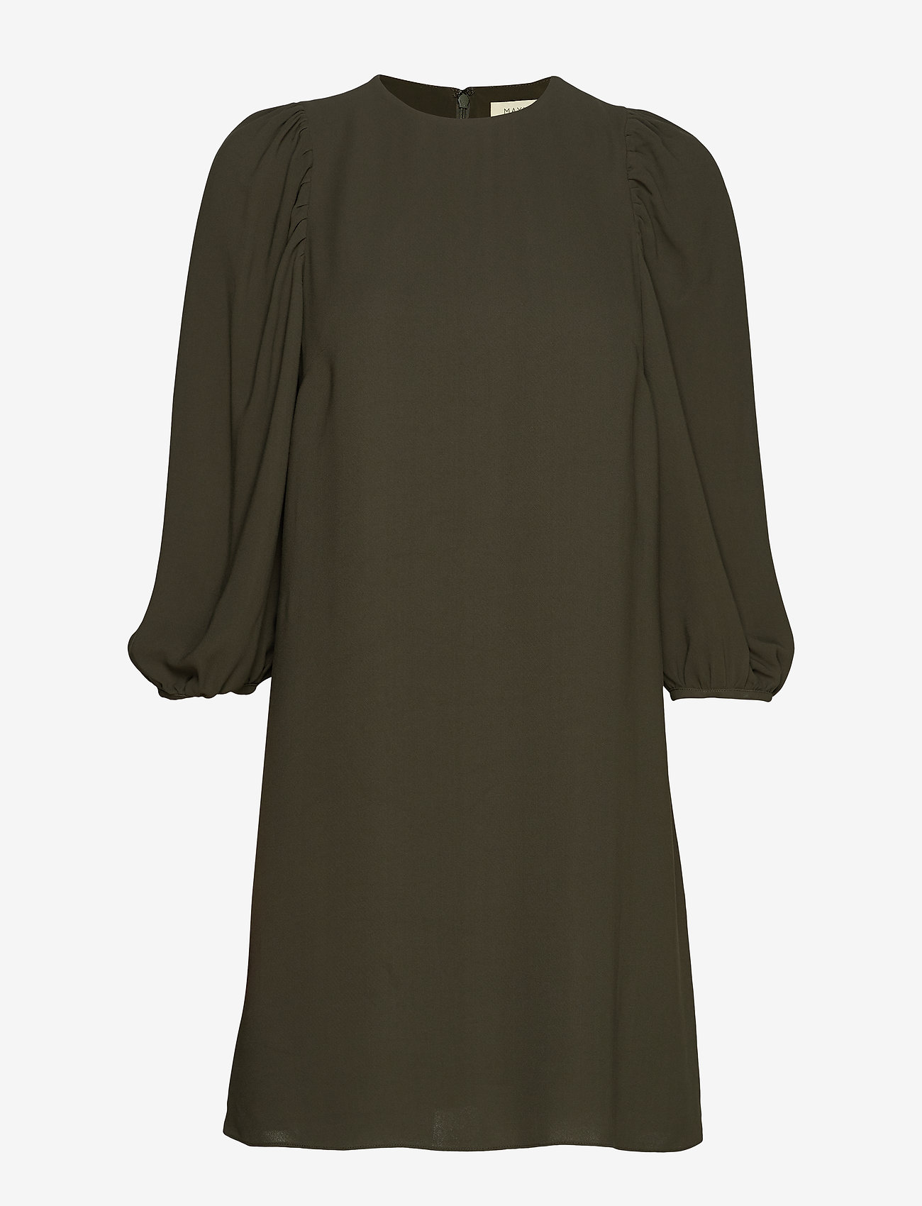Bea Puff Sleeve Dress (Moss) - Mayla Stockholm 6PZR7f