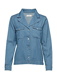 Bonnie Denim Shirt - VINTAGE BLUE