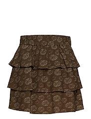 Ariana Mini Skirt - DANDELION PRINT