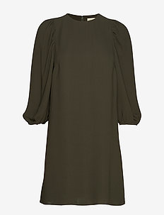 Bea Puff Sleeve Dress - MOSS