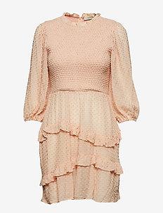 Harper Smock Dress - BLUSH
