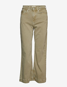 Jane Cropped Pants - PISTACHIO