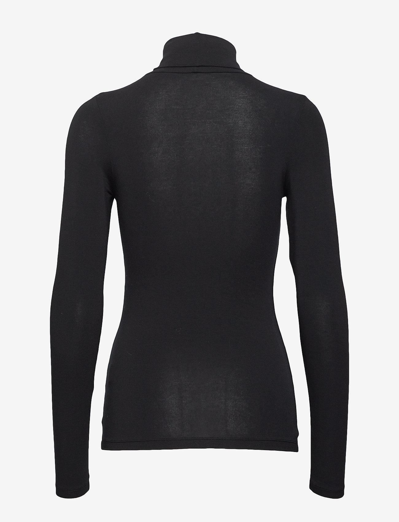 mbyM - Ina - long-sleeved tops - black - 1