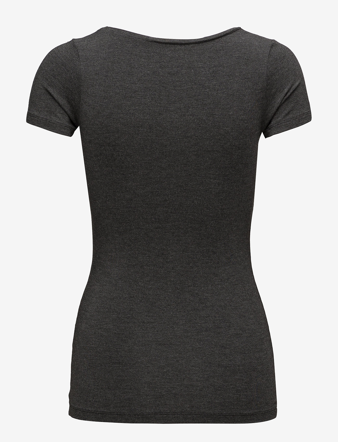 mbyM - Siliana - t-shirts basic - dark grey melange