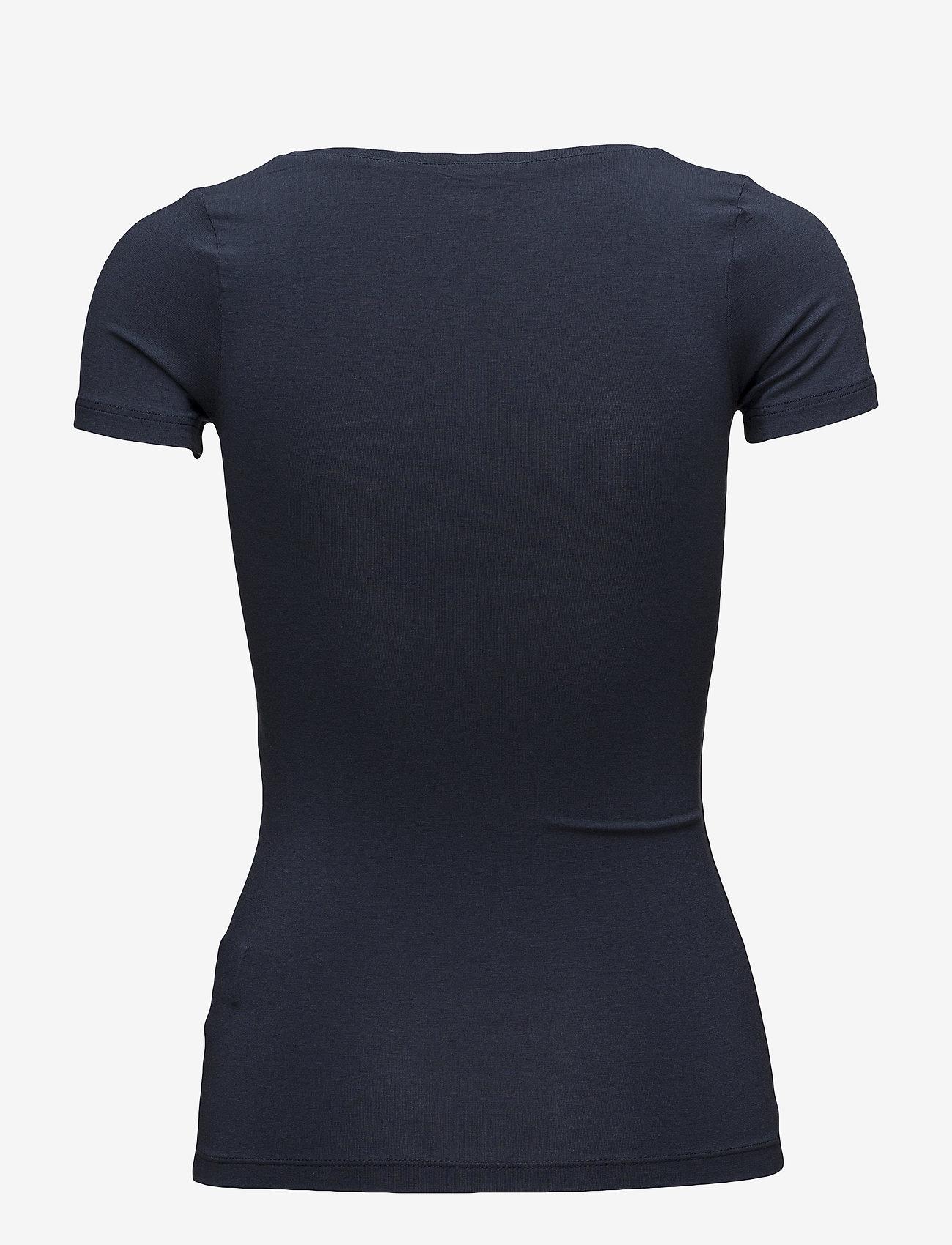 mbyM - Siliana - basic t-shirts - navy blue - 1