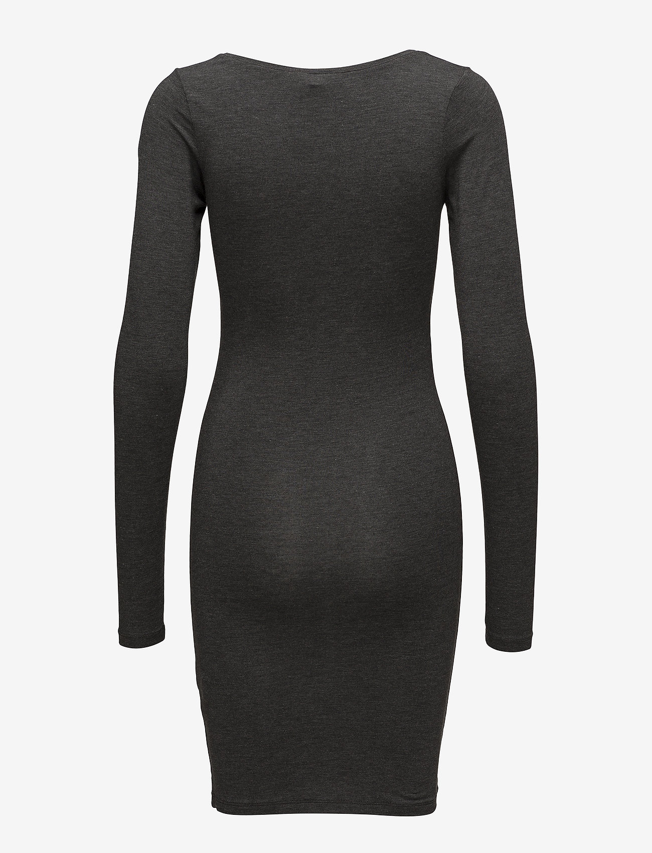 mbyM - Hanna - midi dresses - dark grey melange - 1