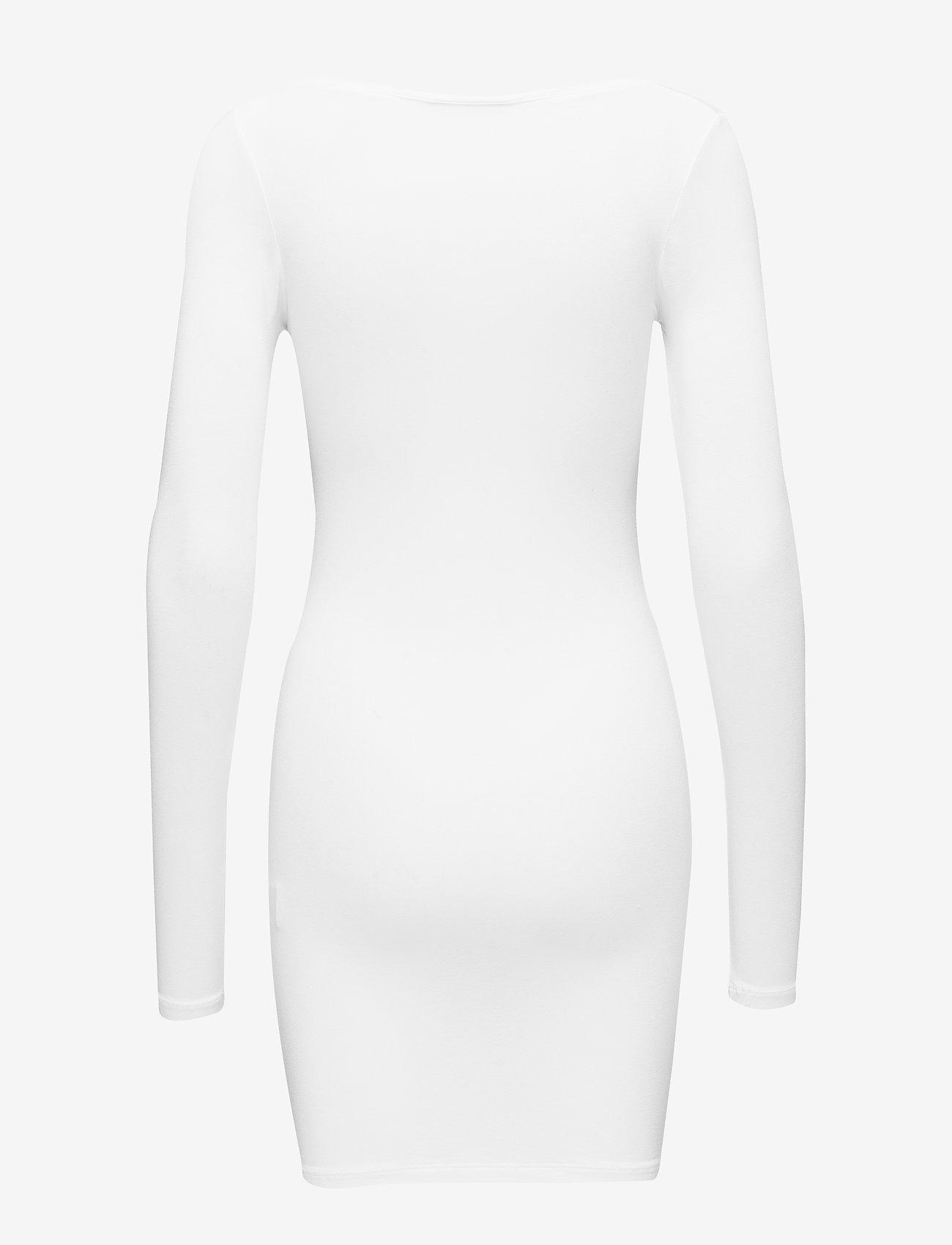 mbyM - Hanna - midi dresses - optical white - 1