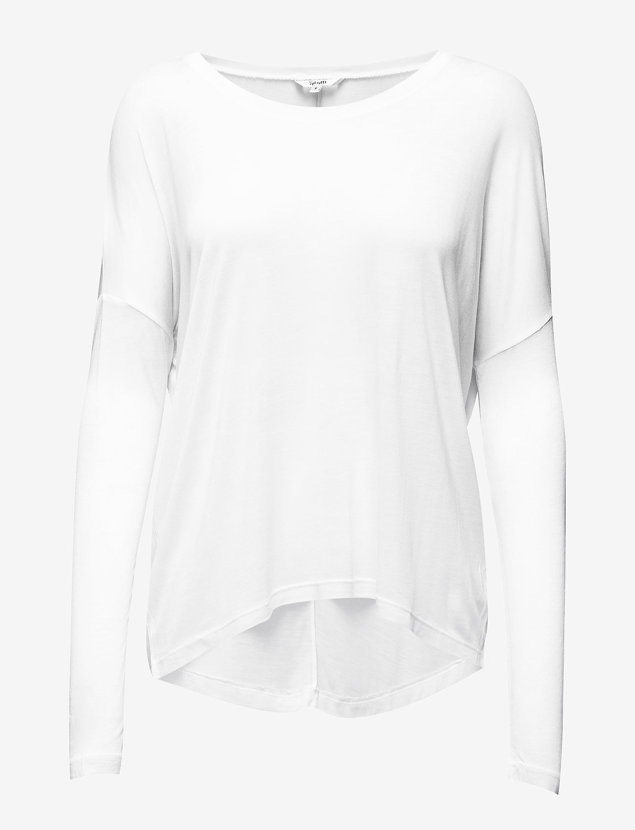 mbyM - Petrol - long sleeved blouses - optical white - 0