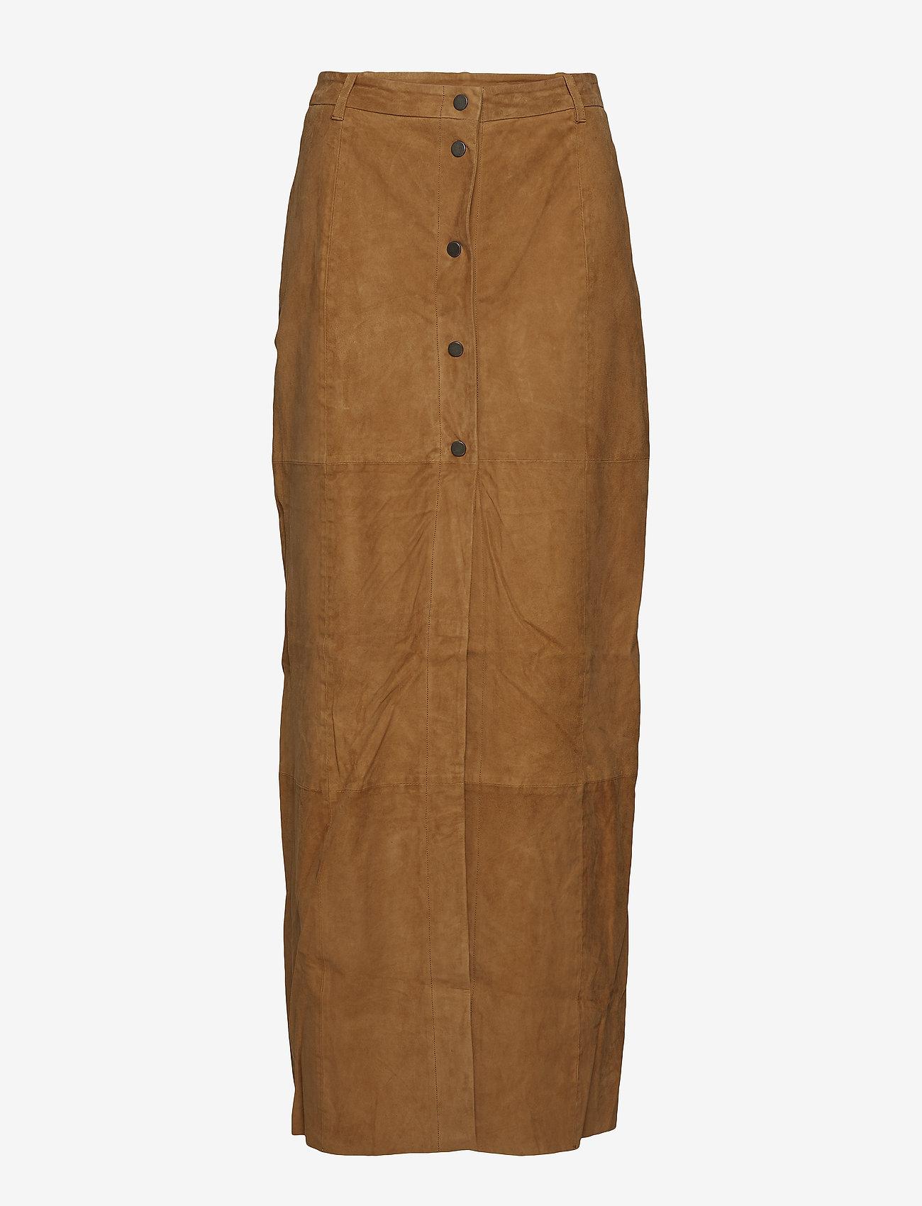 mbyM - Jones - spódnice długie - brown sugar - 0