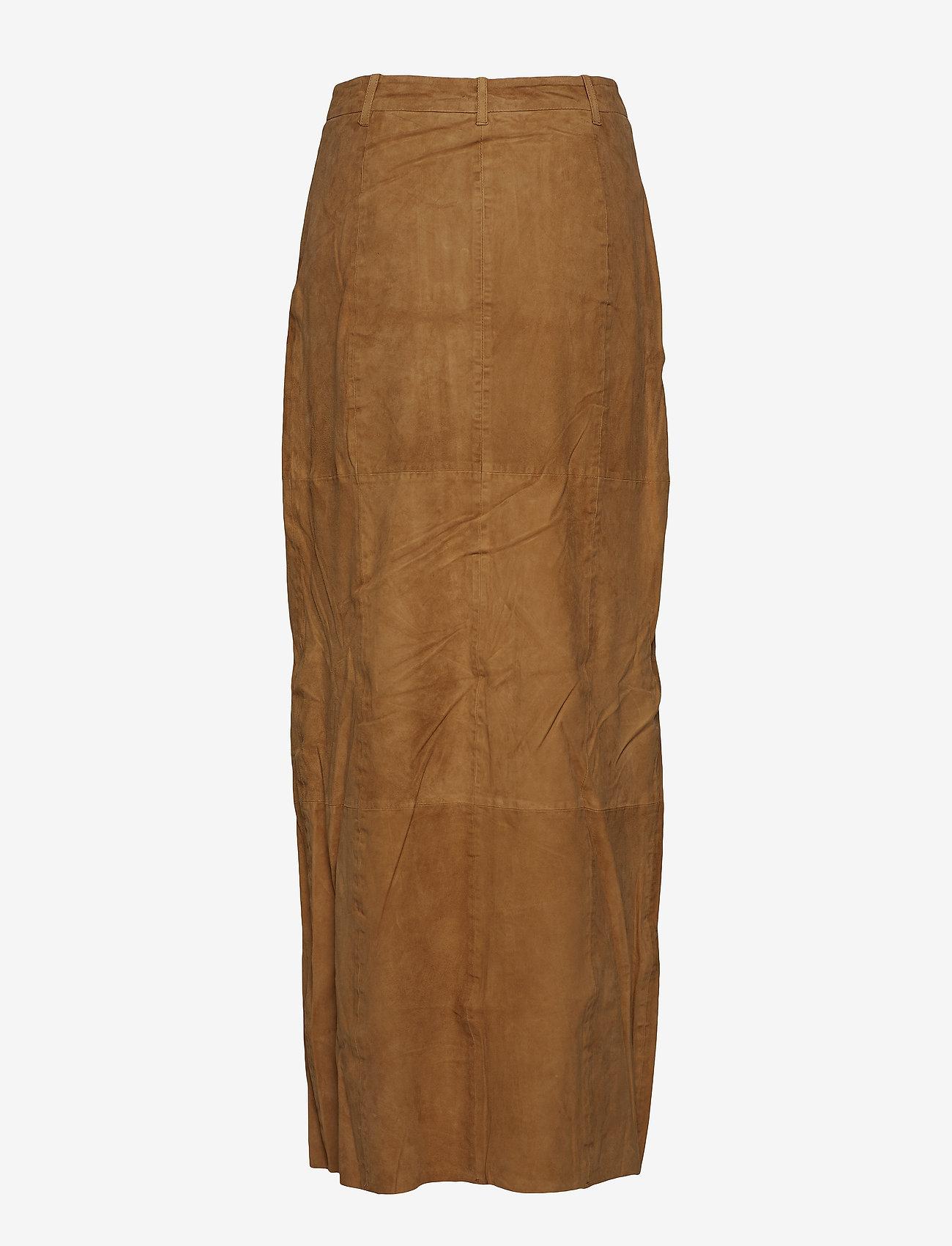 mbyM - Jones - spódnice długie - brown sugar - 1