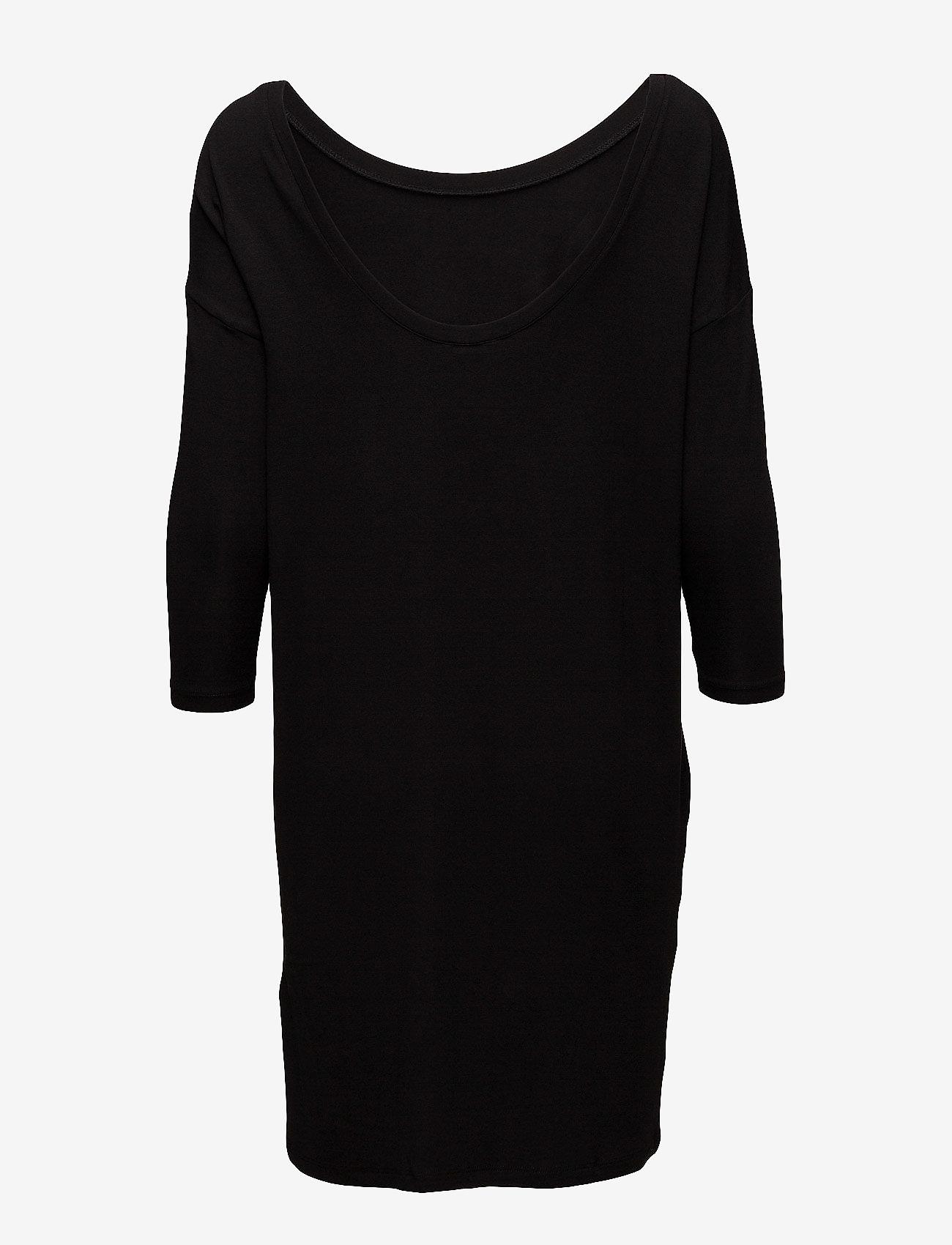 mbyM - Lacy - krótkie sukienki - black - 1