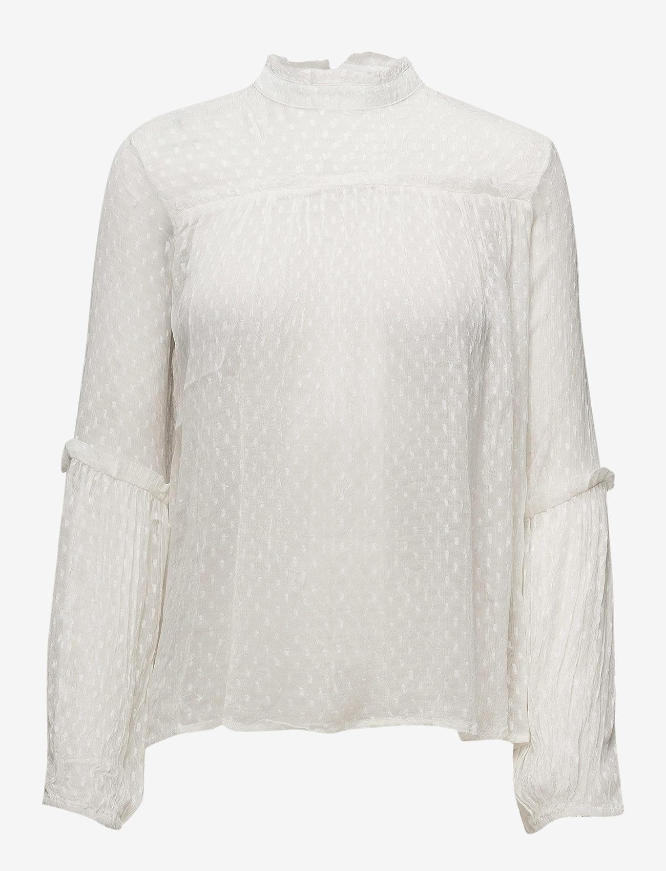 mbyM - Blancha - long sleeved blouses - sugar - 0