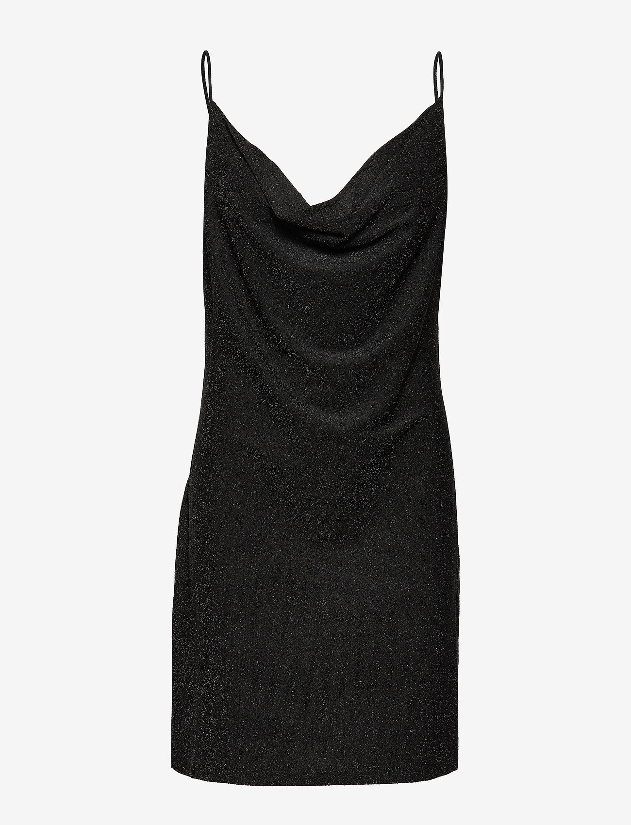 mbyM - Darlena - lyhyet mekot - black lurex