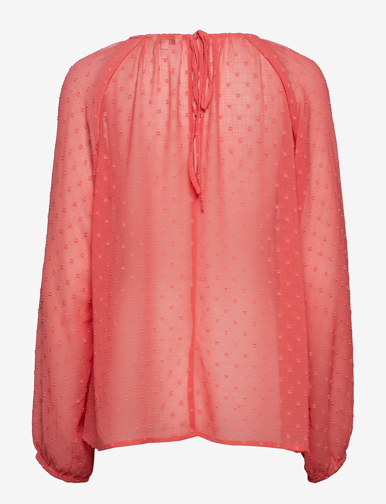 mbyM - Dacey - long sleeved blouses - calypso coral - 1
