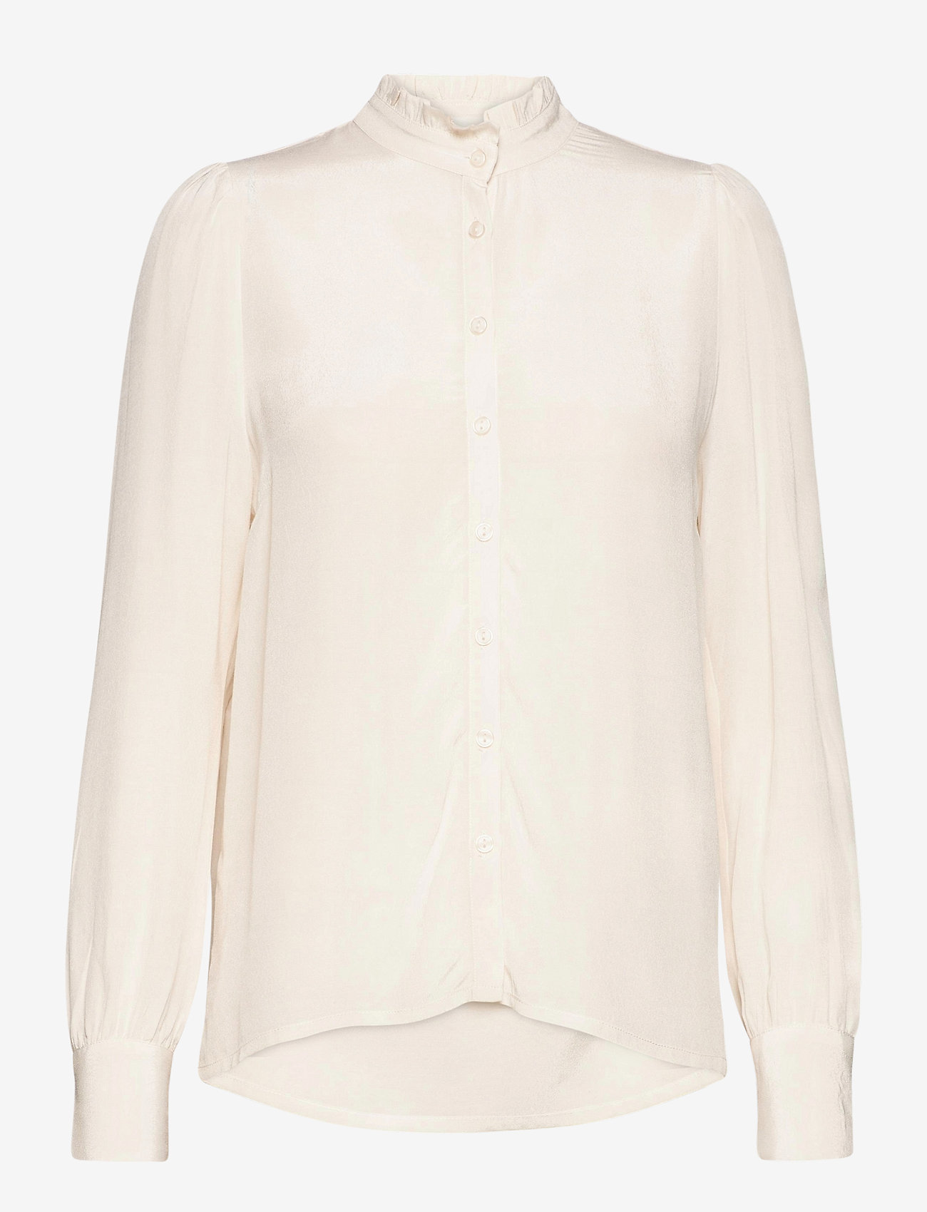 mbyM - Vilora - long sleeved blouses - sugar - 0