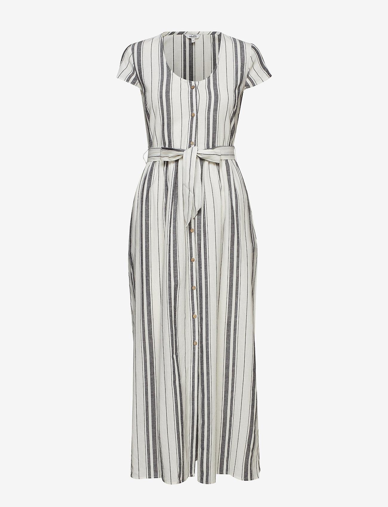 mbyM - Blakely - midi dresses - sugar black stripe - 0