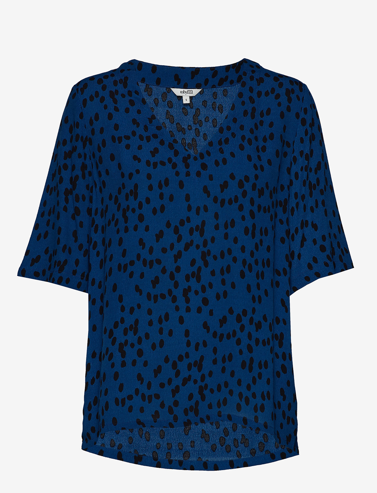 mbyM - Creator - short-sleeved blouses - drops print - 0