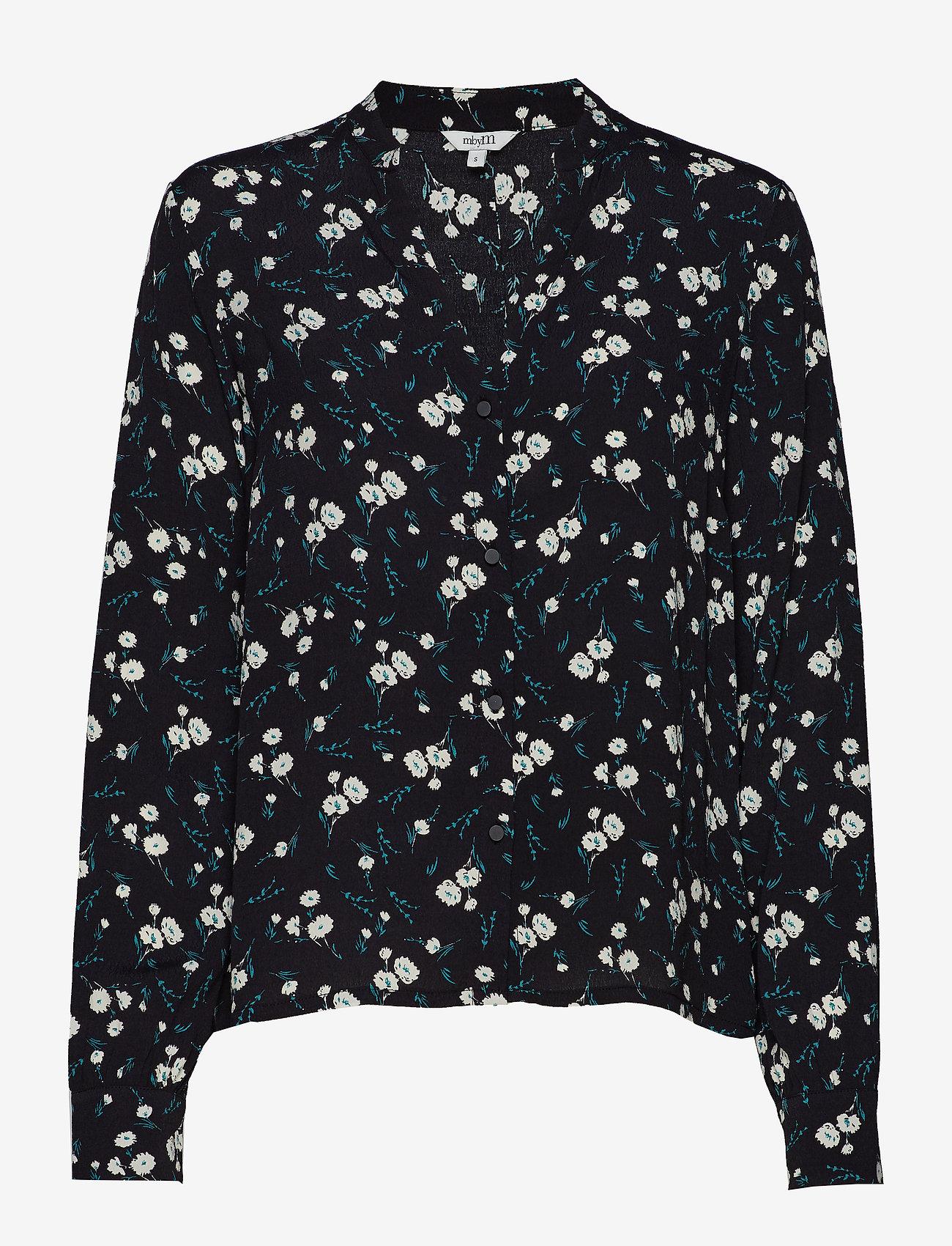 mbyM - Traci - long sleeved blouses - meg print