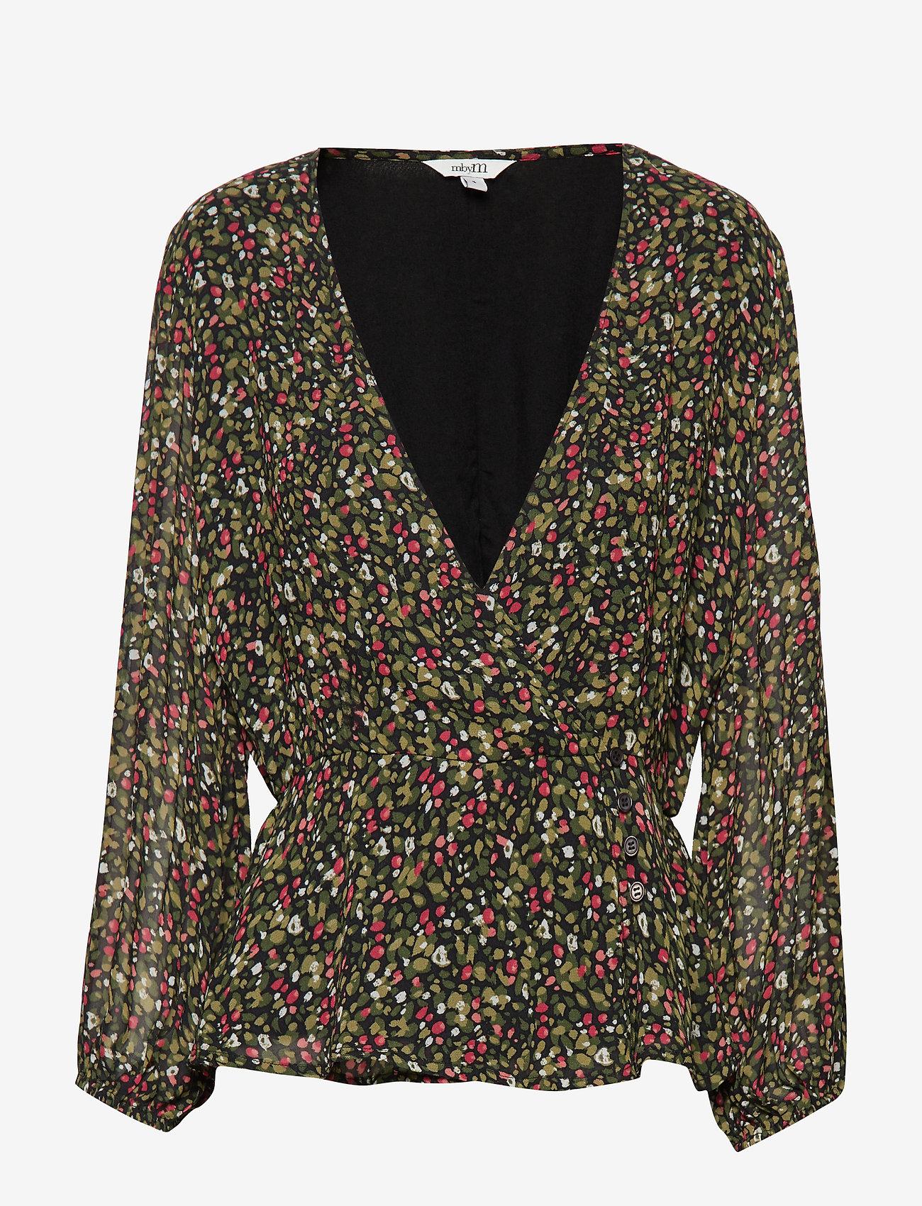 mbyM - Selene - long sleeved blouses - jelsa print - 0