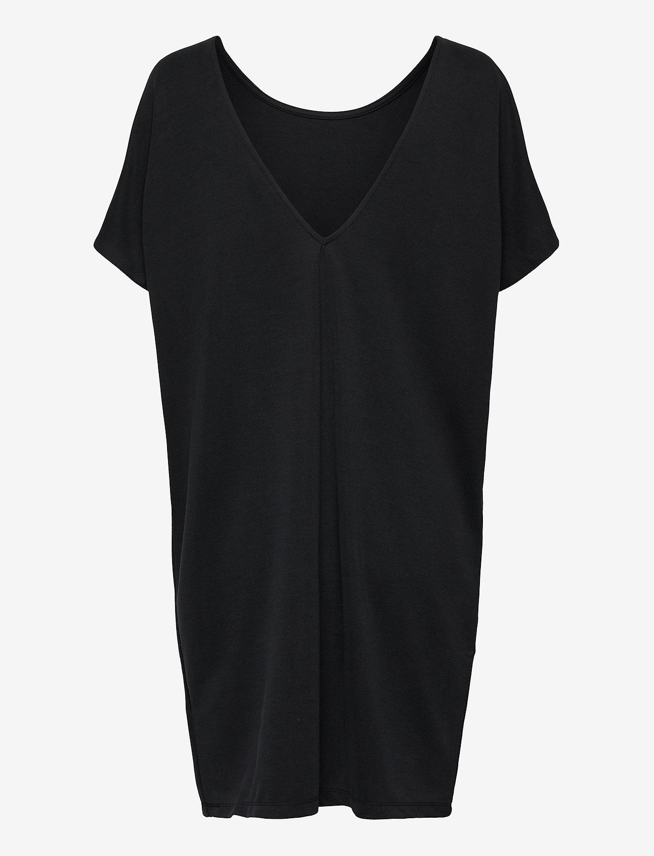 mbyM - Kattie - midi dresses - black - 1
