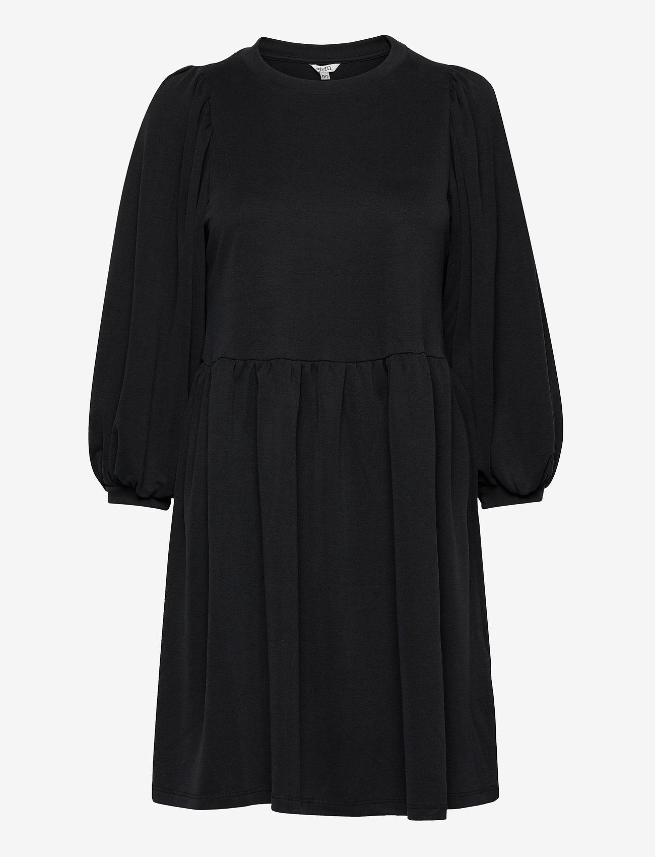mbyM - Gabrielly - midi dresses - black - 0