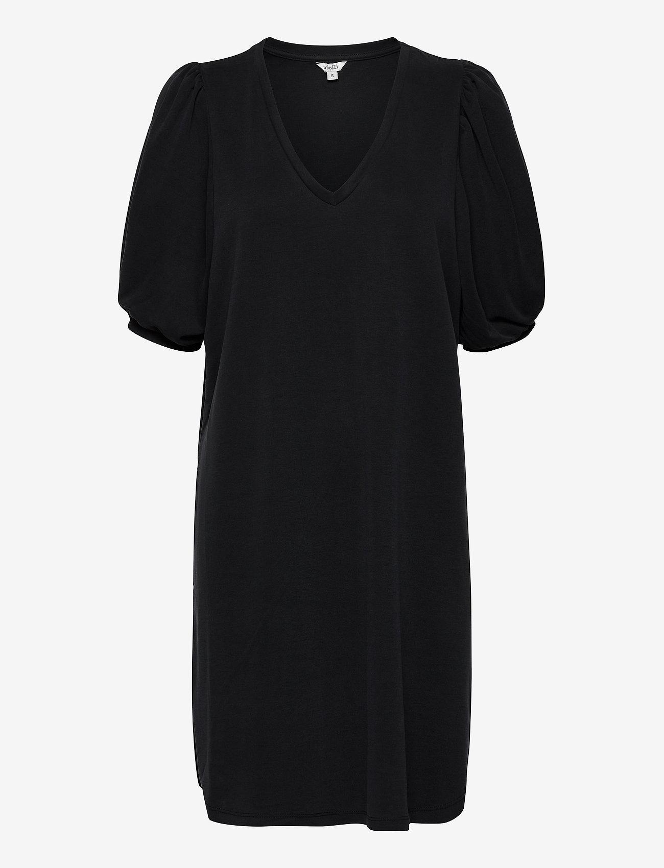 mbyM - Farrana - midi dresses - black - 0
