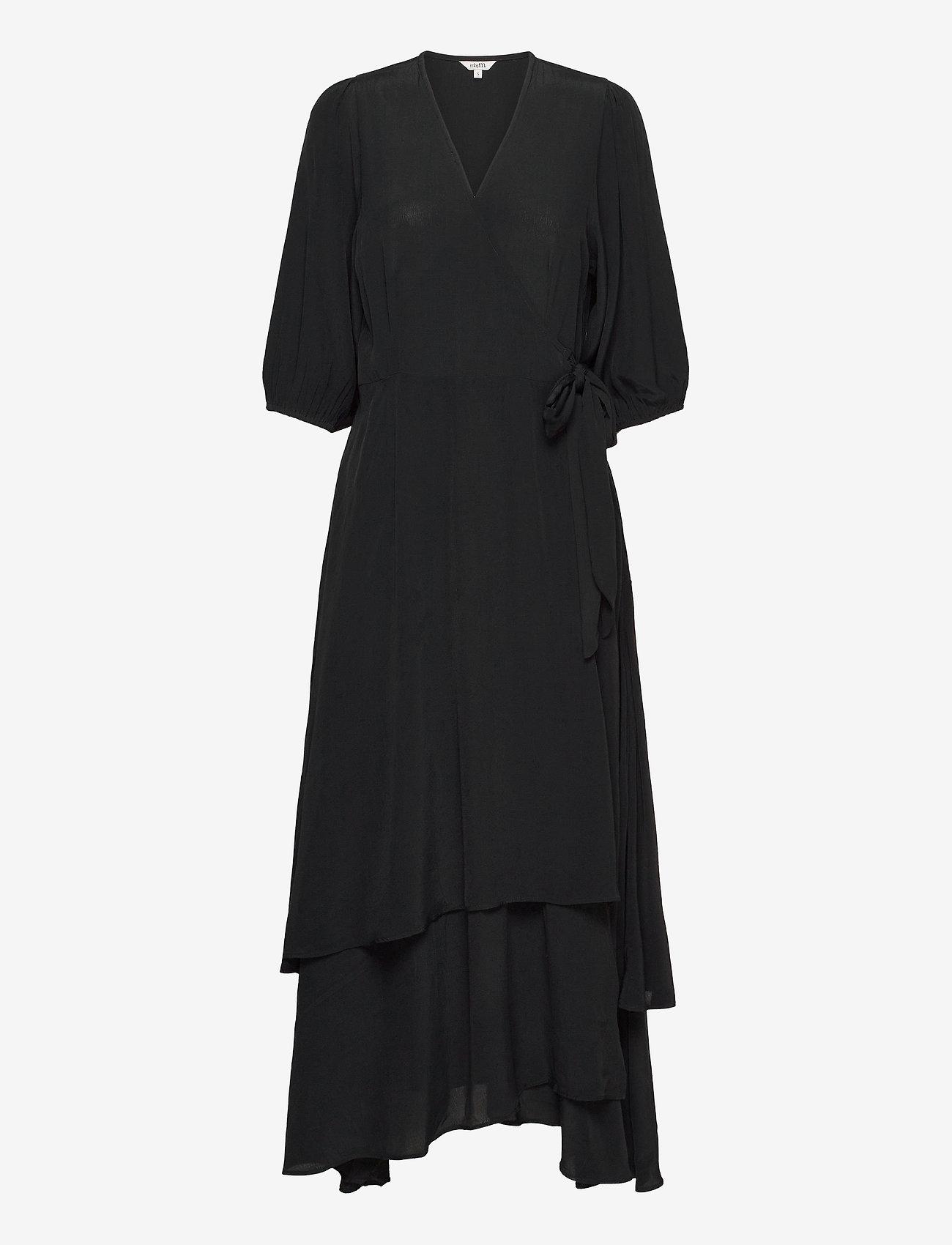 mbyM - Bibbi - wrap dresses - black - 0