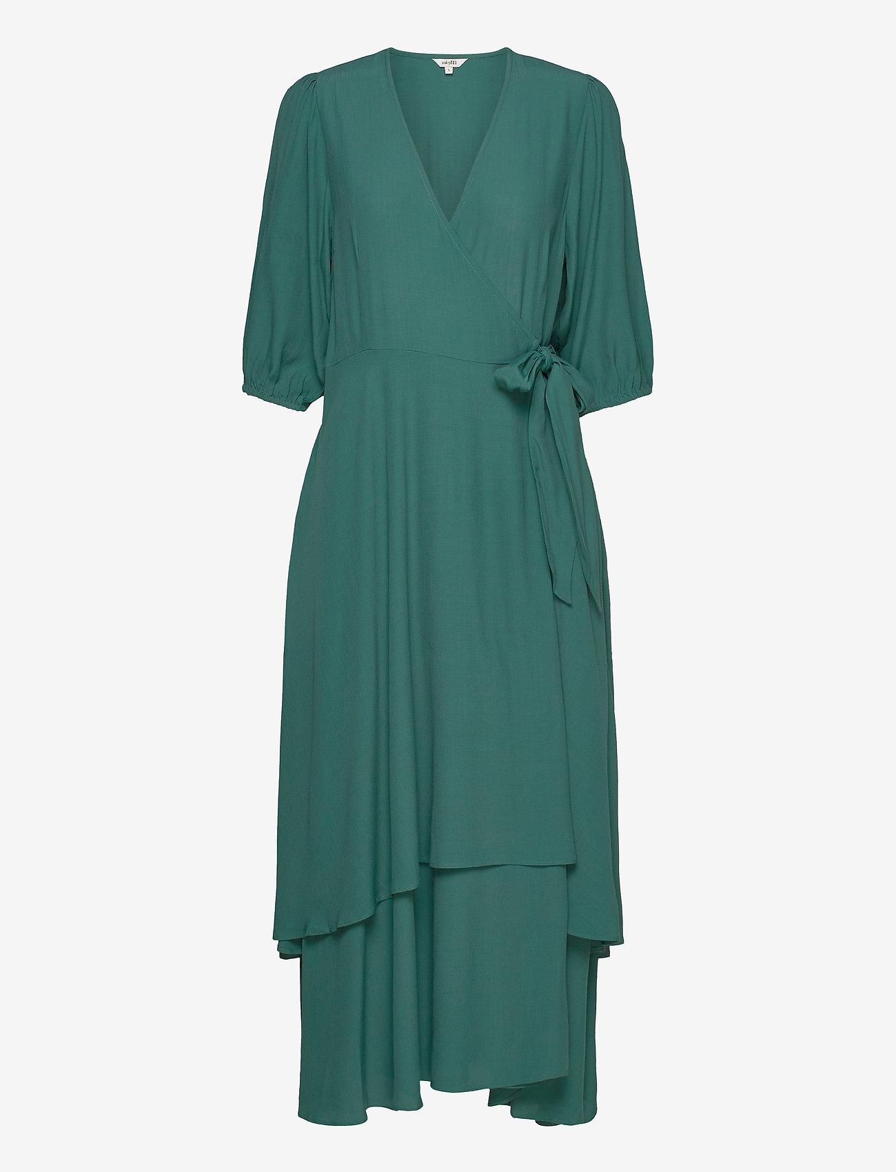 mbyM - Bibbi - wrap dresses - mallard green - 0