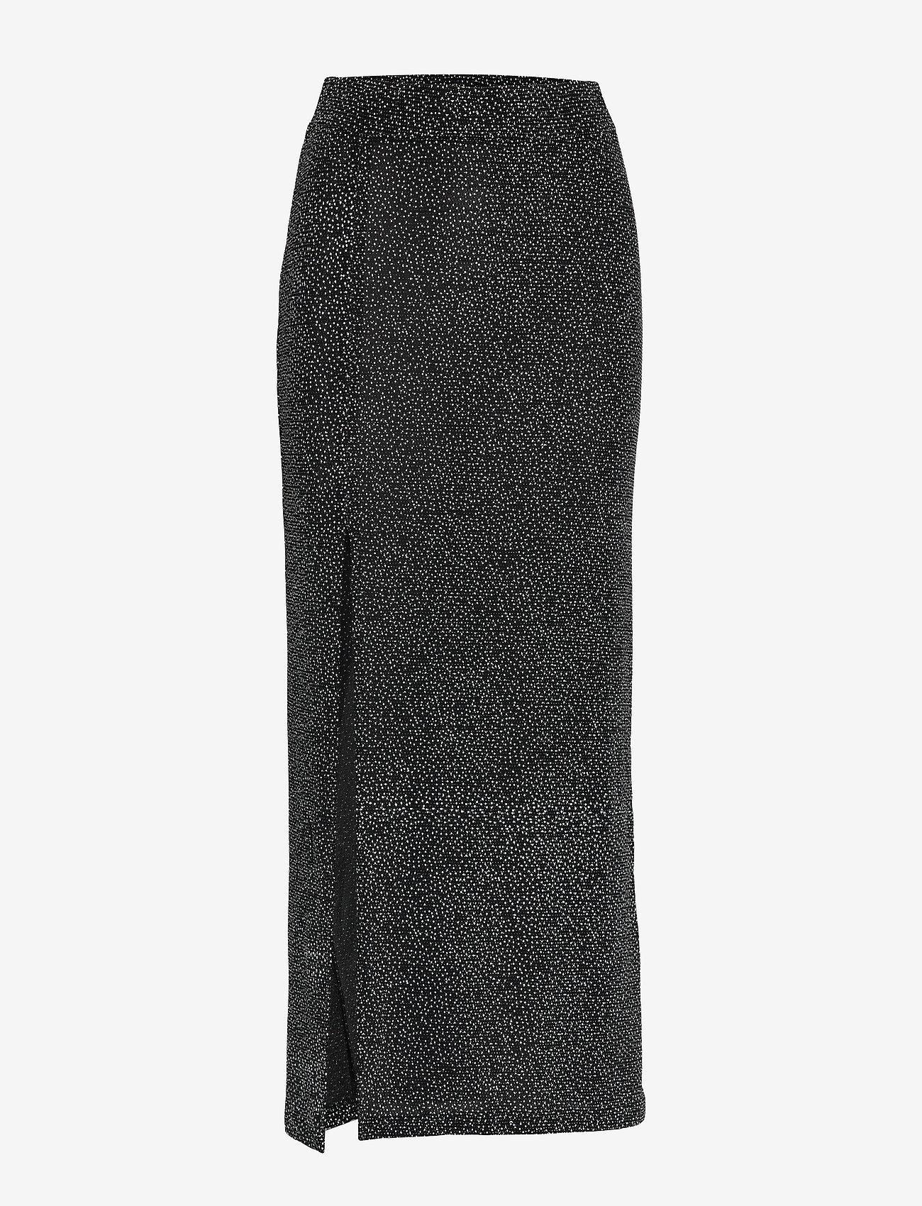 mbyM - Charlinn - midi - black sliver glitter
