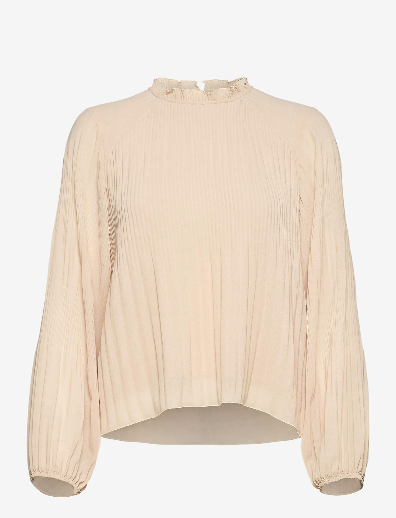 mbyM - Alie - long sleeved blouses - pale peach - 0