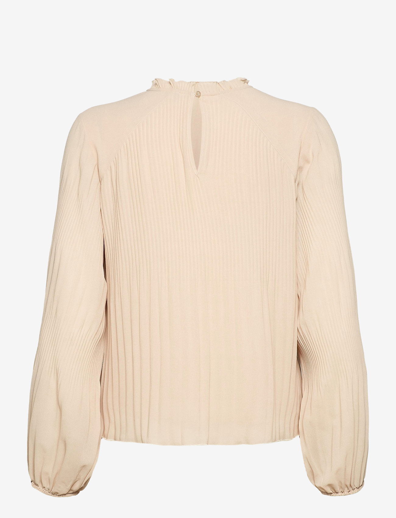 mbyM - Alie - long sleeved blouses - pale peach - 1