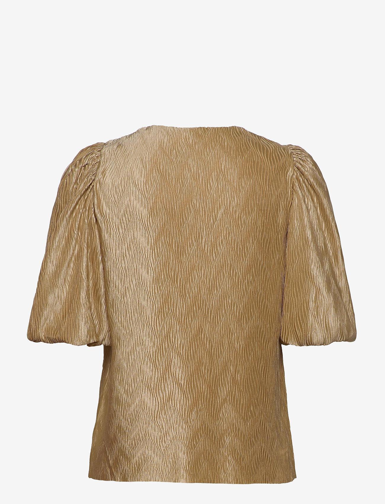 mbyM - Abela - short-sleeved blouses - oyster - 1
